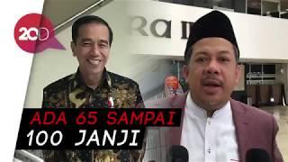 Fahri: Langkah Jokowi di Pilpres Berat, Utang Janjinya Banyak