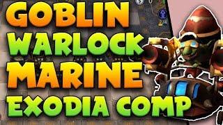 Goblin + Warlock + Marine is the EXODIA COMP [Unbeatable!] | Auto Chess Mobile