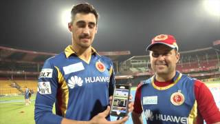 Download the RCB app and watch the game with Mr. Nags!