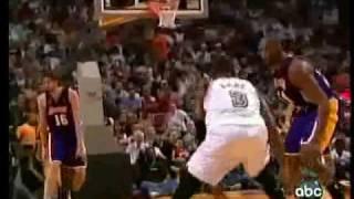 Kobe Bryant 33 points 10-15 FG vs D-Wade & Heat 2007-08