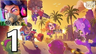 Zombie Paradise - Mad Brains Gameplay Walkthrough Part 1 (iOS Android)