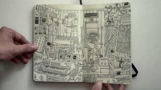 Moleskine sketchbook 18