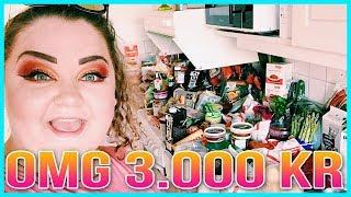 STORHANDLA MAT MED MIG FÖR 3.000KR   GALET MYCKET MAT!