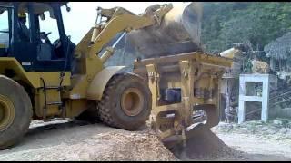 Tritutadora piedra caliza, Cantera Agregar SAS Monteria-Cordoba