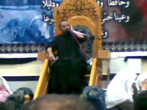 نعي حزين للشيخ حسين الخميس ليلة الوحشة في العليوات