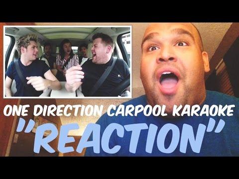 One Direction Carpool Karaoke [REACTION]