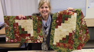 How To Make 4 Patchwork Placemats From 1 Table Runner Kit | Tutorial With Donna