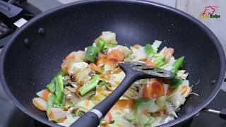 চারটি সবজি দিয়ে চাইনিজ ভেজিটেবল তৈরি | Bangladeshi Style Chinese Vegetables Recipe