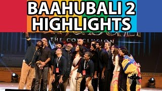 Baahubali-The Conclusion Pre-Release Event Highlights | Baahubali 2 | Post360