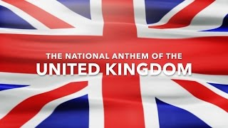 British National Anthem (God Save The Queen) with lyrics
