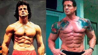 Sylvester Stallone - Transformation From 1 To 71 Years Old