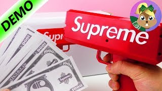 مسدس المال الفظيع-لعبة مضحكة جيدا مسدس الأموال للاغنياء فقط | العب معى