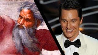 Matthew McConaughey & God - Who's The Real Hero?