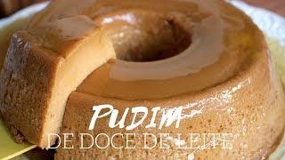 PUDIM DE DOCE DE LEITE ( 3 ingredientes )