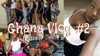 GHANA VLOG #2 (Pt. 1) | ORIENTATION, SLAVE CASTLE, & MY WHITE FRIEND CAN TWERK?!? (Study Abroad)