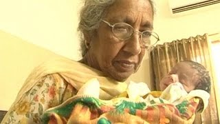 Pensioner parents: Indian couple in their 70s have first baby
