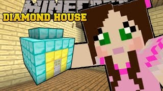 Minecraft: HOUSE MADE OF DIAMONDS!!! - CURSE OF THE PUMPKIN PRINCE - Custom Map [1]