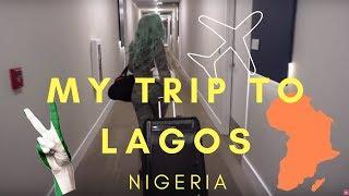 MY TRIP TO LAGOS NIGERIA + APARTMENT TOUR!