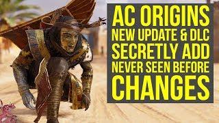 Assassin's Creed Origins Update 1.41 SECRET CHANGES Best Weapon Upgraded & More (AC Origins DLC)
