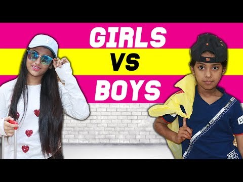 Girls Vs. Boys : Planning A Vacation | SAMREEN ALI