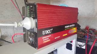 Ukc 4000w inverter is back in action
