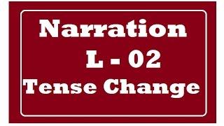 Narration - Tense Change