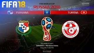 FIFA 18 World Cup - Panama vs. Tunisia @ Mordovia Arena (Group G)
