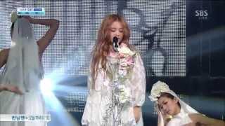 이하이 (Lee hi) [Rose (feat. CL)] @SBS Inkigayo 인기가요 20130414