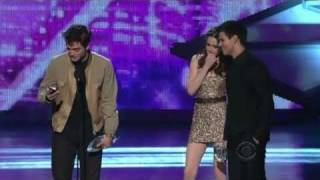 HD Robert Pattinson,Kristen Stewart and Taylor Lautner People's Choice Awards 2011