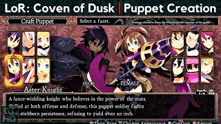Labyrinth of Refrain: Coven of Dusk   'Puppet Creation' Trailer (HQ)