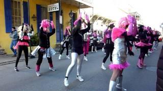 Mardi Gras 2012 | Camel Toe Lady Steppers Practice