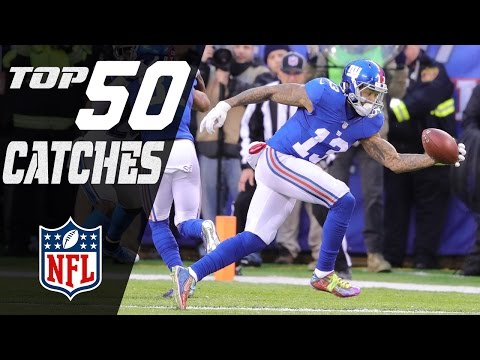 Top 50 Catches of the 2016 Season NFL Highlights