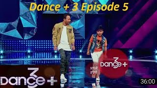 Dance + Season 3 Episode 5 Full Episode HD | 15 July 2017 Final Selection