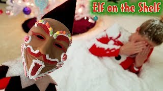 Evil Elf on the Shelf Disquised as Gingerbread Man Buried Our Mom in Snow! Game Master! Day 12