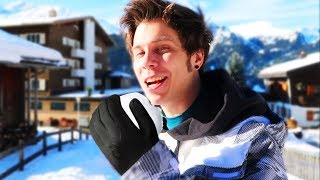 Un dia de nieve con Rubius