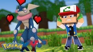 Minecraft: Pokemon X Y - A NAMORADA DO GRENINJA #22