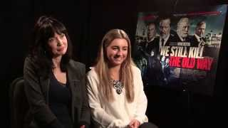 Britflicks Talks WE STILL KILL THE OLD WAY with  Lysette Anthony & Dani Dyer