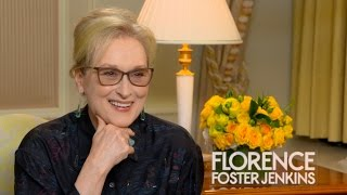 Meryl Streep Talks About Her Role in 'Florence Foster Jenkins'