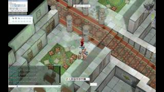 Ragnarok Online - (Grimtooth) mobbing Rachel Sanctuary