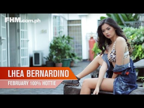 Lhea Bernardino - FHM 100% Hottie February 2014