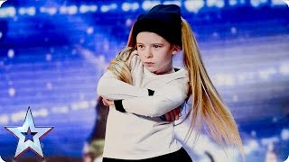 Paisley Kerswell brings the sass!  | Week 1 Auditions | Britain's Got Talent 2016