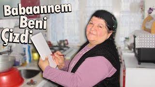 BABAANNEM BENİ ÇİZDİ!!