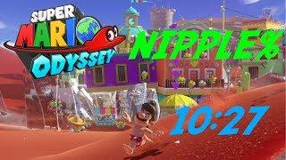 Super Mario Odyssey - Nipple% Speedrun in 10:27