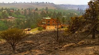 Firefighters Battle Blazes in California and Utah
