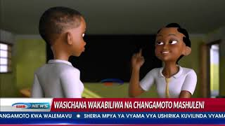 Vikaragosi kutoa elimu ya hedhi kwa wasichana shuleni