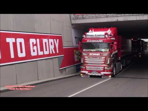 Scania V8 Loud Open Pipes Sound Ronny Ceusters & PWT Thermo