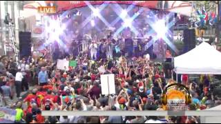 Shaggy ft Costi Mohombi Rayvon - I Need Your Love Live on Today Show 07.07.2015