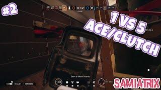 Lesion Ace / Clutch : Stream Highlights - Rainbow Six Siege - #2
