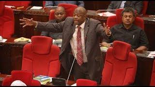 """Dakika kumi za Charles Kitwanga kuhusu bajeti kuu """"Pesa ni utamu """""""