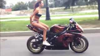 Russian Biker Girl---- MUST WATCH----